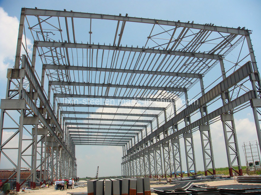 Steel Structure Building (Including 250t Crane)