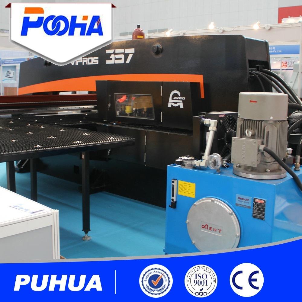 Steel Sheet Hydraulic CNC Turret Punch Press Machine