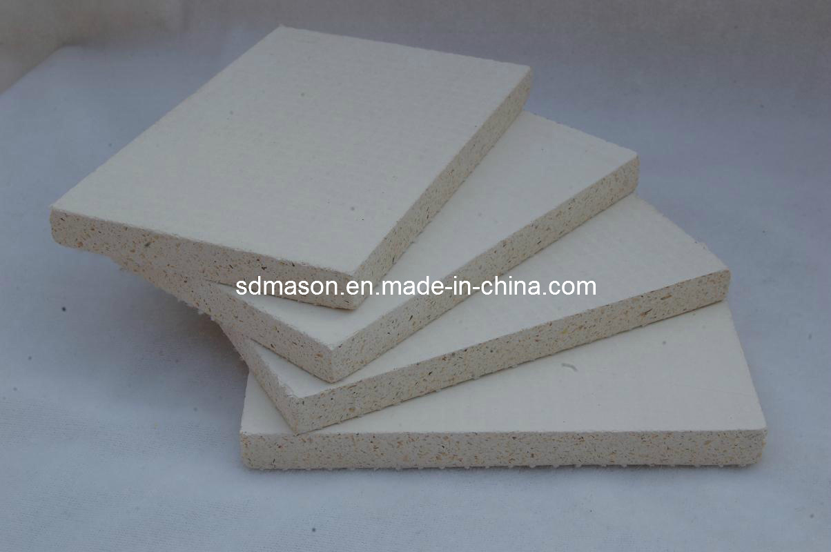 Three Layers Mesh MGO Fireproof Board for External Wall