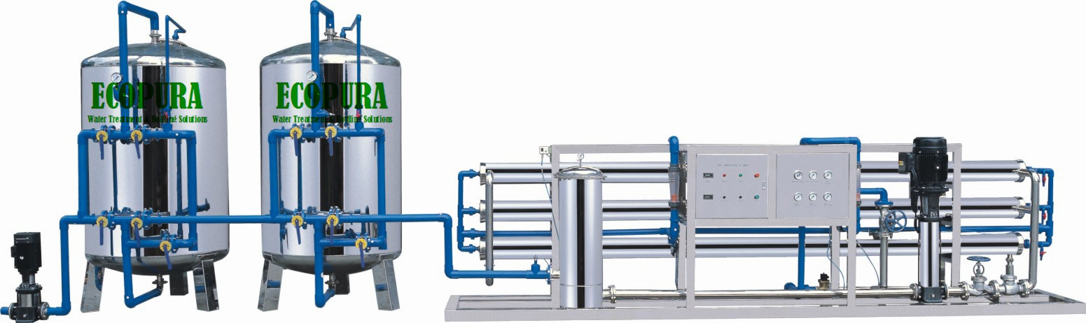 Reverse Osmosis Pure Water Treatment Machine