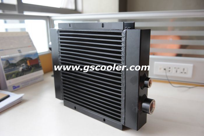 Hydraulic Oil Cooler with DC 12V Motor