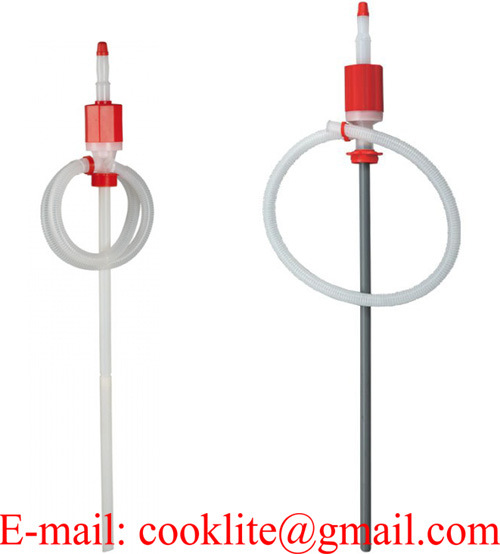 Syphon Transfer Drum Pump Fuel Liquid Siphon Dispenser (GT129)