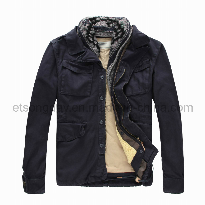 Winter Outdoor 100% Cotton Men′s Padding Jacket (MRDS806)