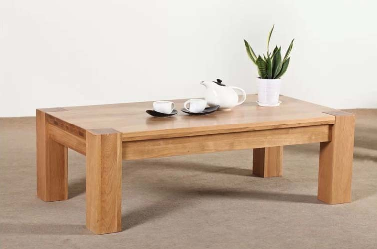 Oak Wood Coffee Table Garden Table (M-X1077)