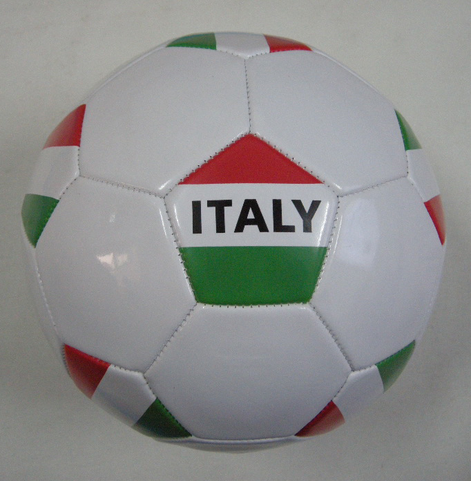 Italy Country Flag Soccerball