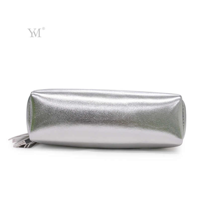 Best Selling Promotional Shiny Gold Waterproof Cosmetic Bag