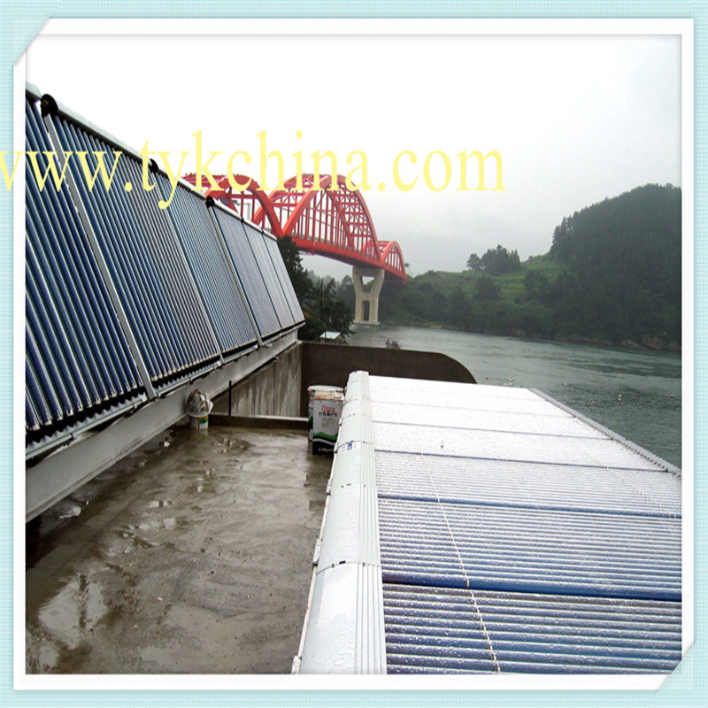 High Efficiency Heat Pipe Solar Collector Customized