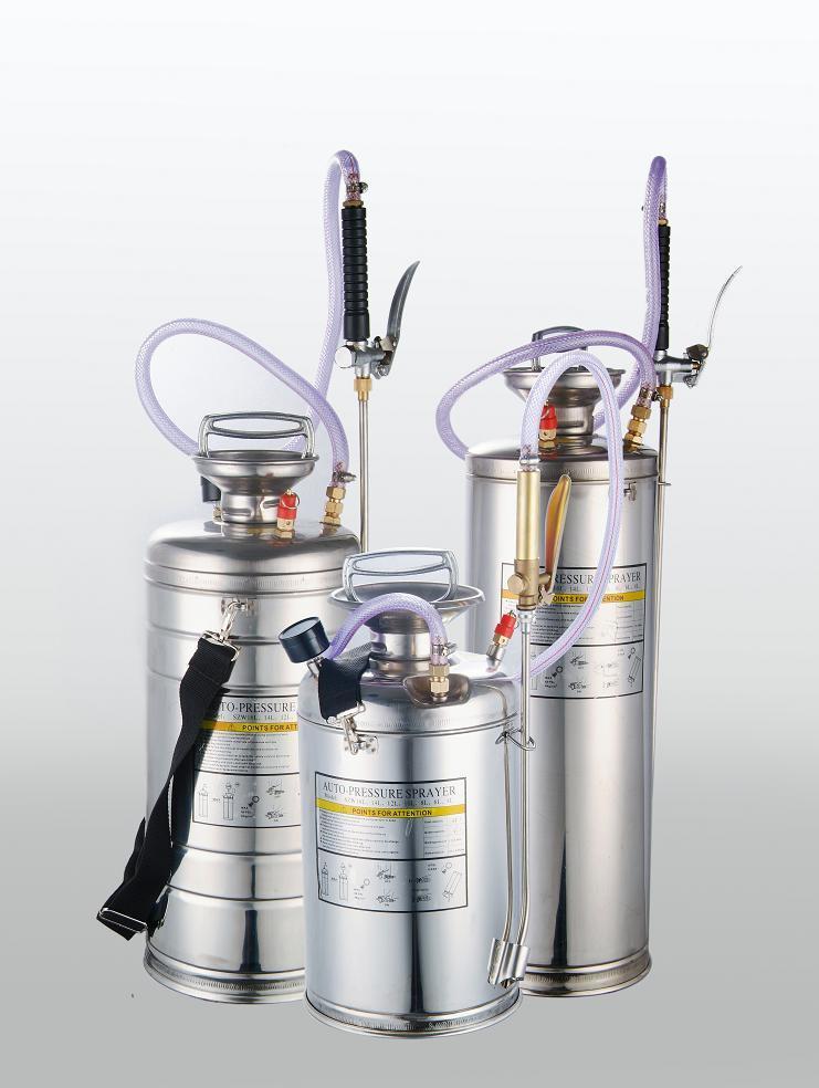 10L Stainless Steel Pressure Sprayer / Compression Sprayers (SS-10L)