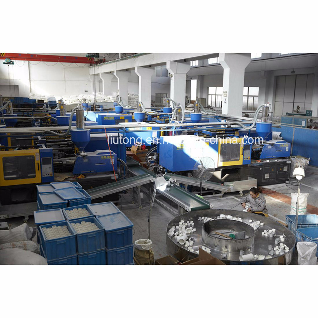 Plastic UPVC Pipe ASTM D1785 Standard for Dwv Drain Water