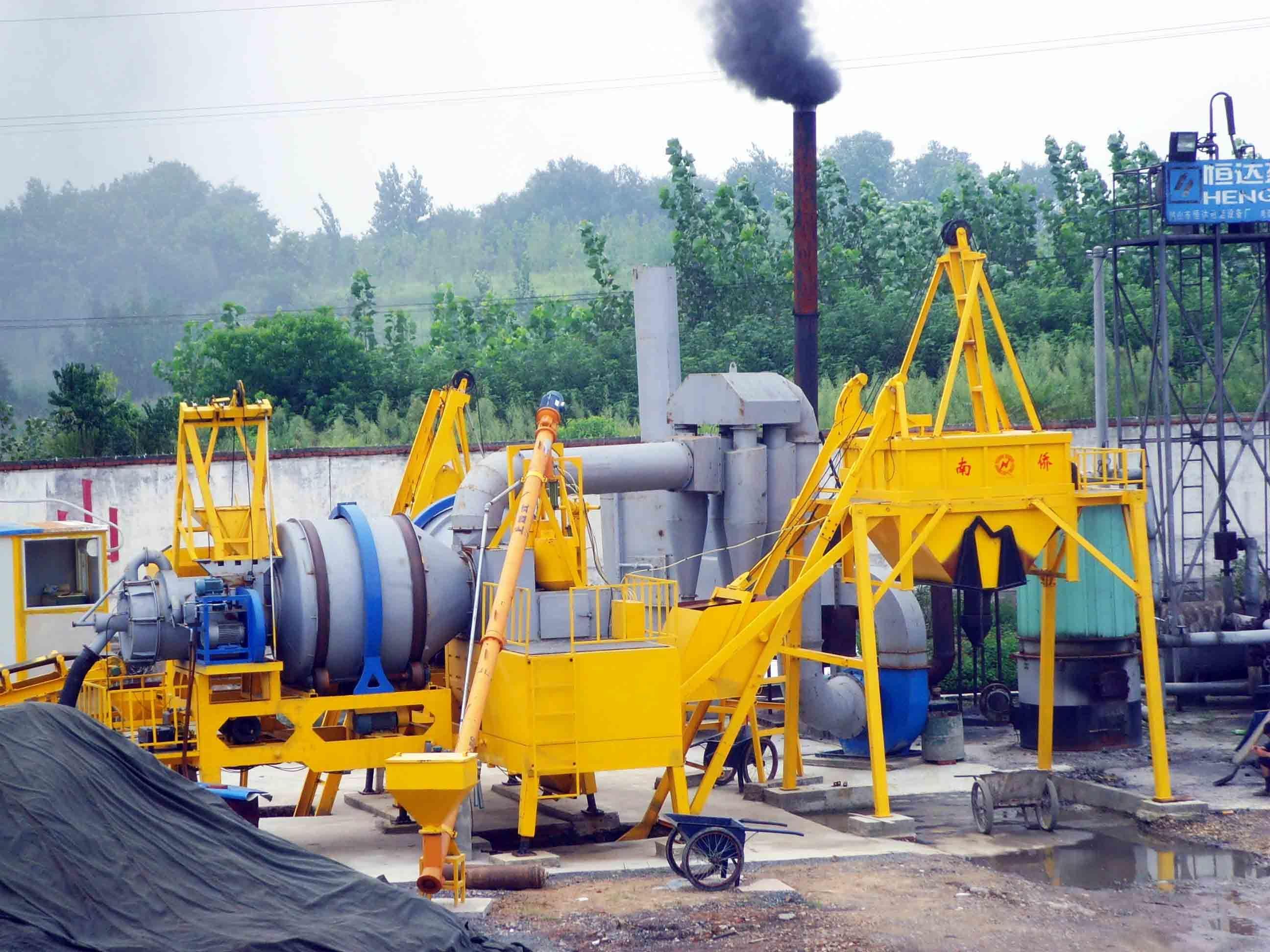 Mobile Asphalt Mixing Plant (QLBY80)