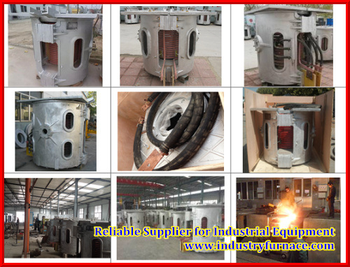 Iron Melting Furnace Medium Frequency Coreless Induction Furnace