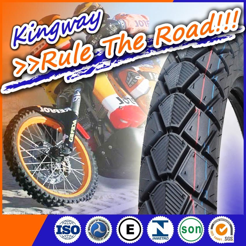 2016 New Pattern Motorcycle Tubeless Tyre 3.00-17