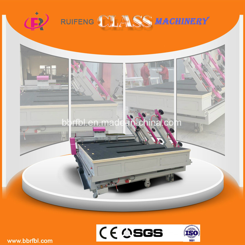 All-in-One CNC Full Automatic Glass Cutting Machine (RF3826AIO)