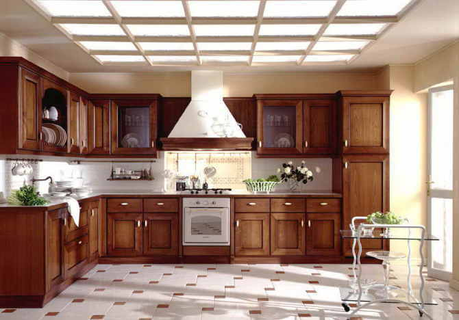 American Solid Wood Kitchen Cabinet Solid Cupboard Solid Furniture