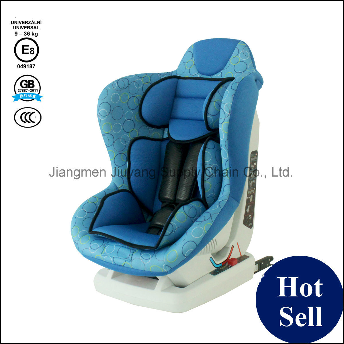 Baby Safety Car Seat with ECE GB 3c Certification - Free Sample