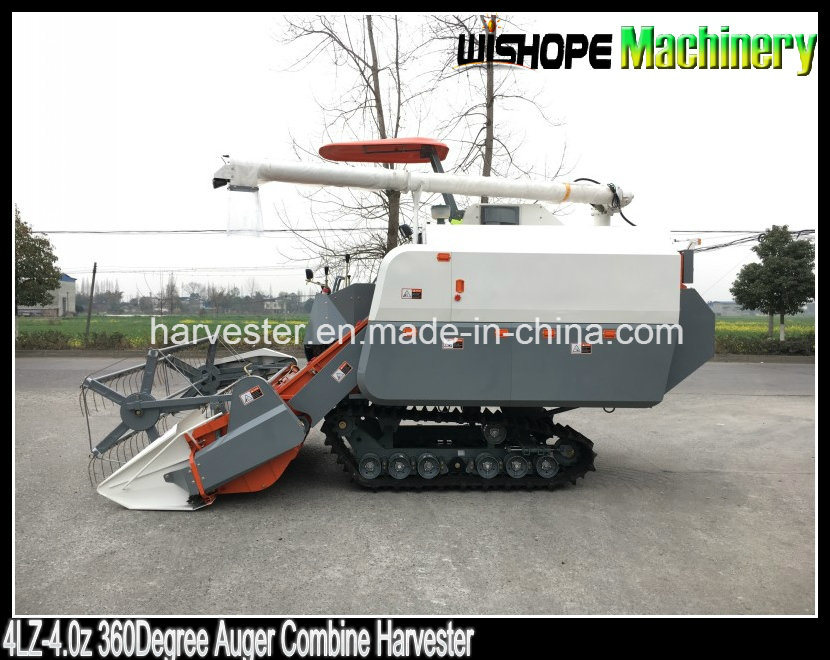 Copy Kubota 360 Degree Rice Unloading Auger Grain Combine Harvester