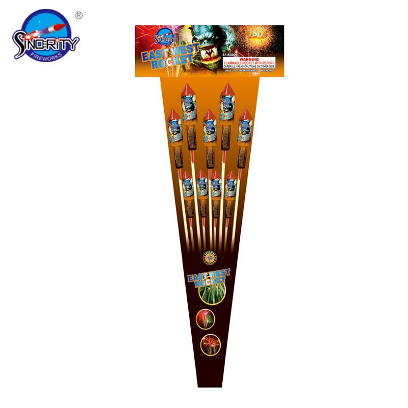 Sf-R1039 East West Assortment Rocket Fireworks