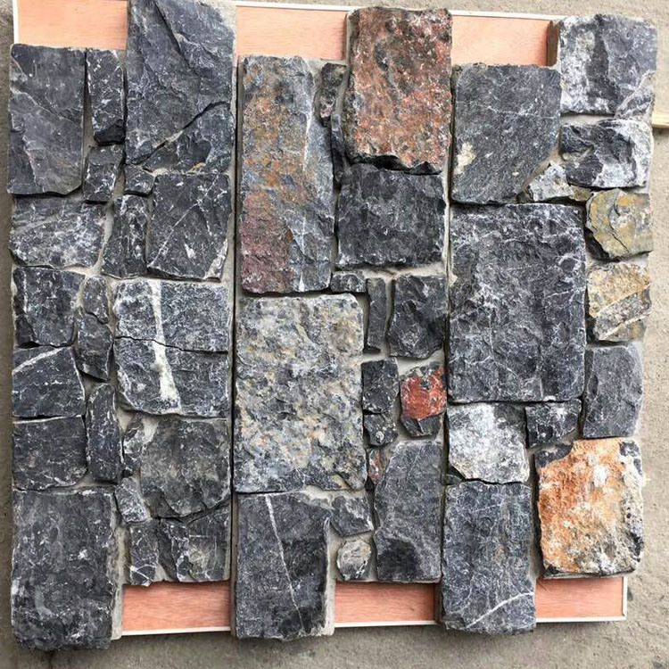 Real Chinese Factory Exterior Wall Facing Stone (SMC-CC157)