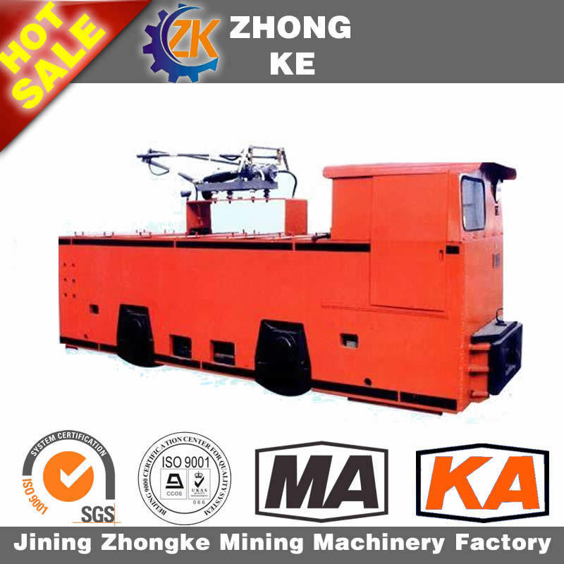 3t Underground Mine Two Motor Electric Trolley Locomotive for Big Promotion