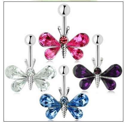 Multi Color Butterfly Lady Special Piercing Fashion Jewellery