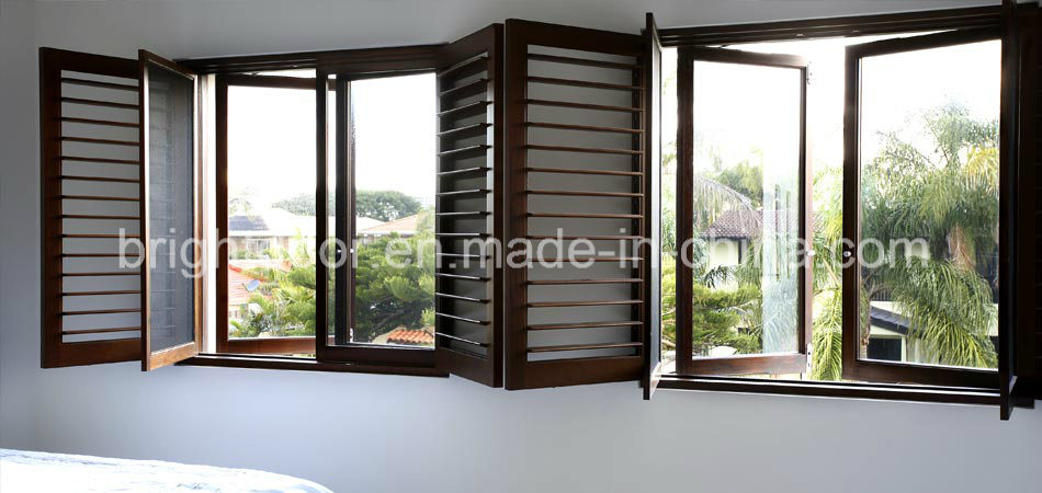 Window Blind casement window blinds : China Inward/Outward Opening Casement Window with Blinds - China ...