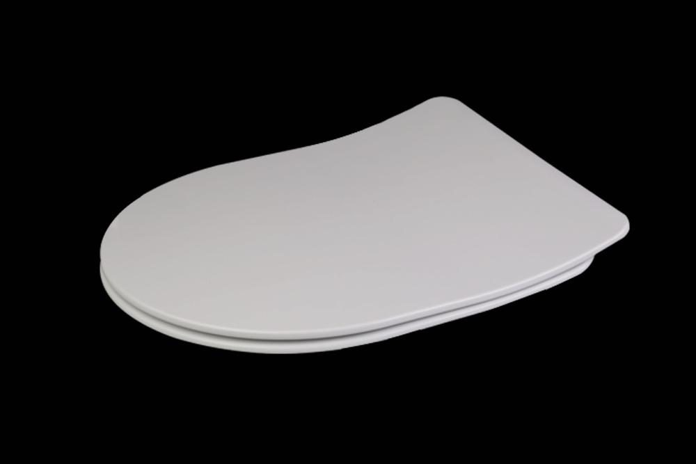 Slim Shape Soft Close Urea Toilet Seat