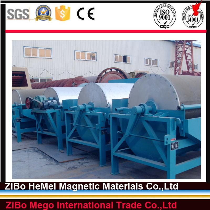 Lump-Ore Dry Magnetic Separator for Ceramics and Coal
