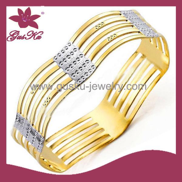 High Quality Copper Jewelry Fashion Jewelry Bracelet Bangle (2015 Gus-Cpbl-090g)