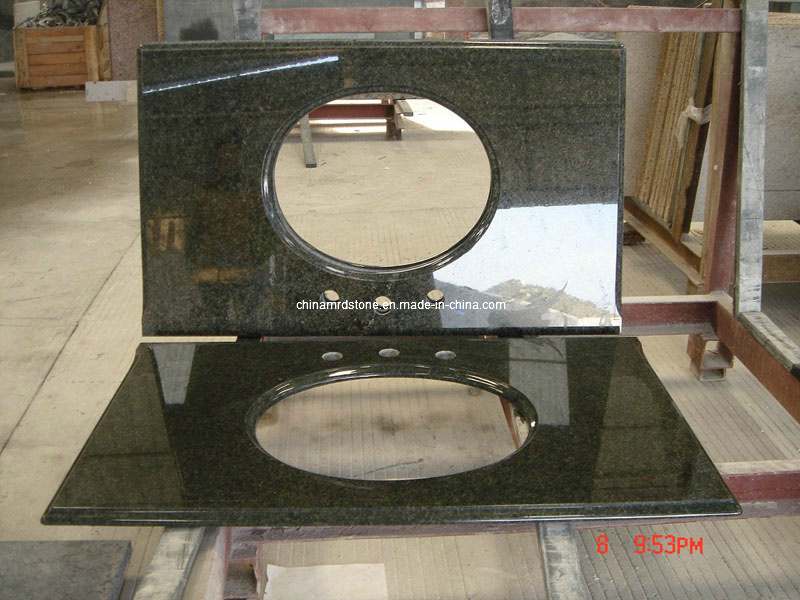 China Discount Prefab Granite Stone Vanity Top Countertops For Kitchen Photos Pictures Made