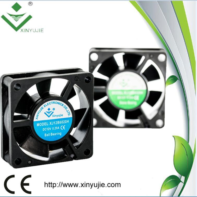 High Pressure Axial Flow Fans 12V 6020 60mm 60X60X20mm