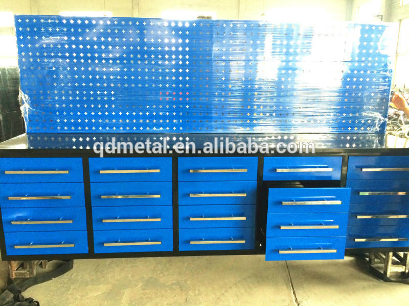 Heavy Duty Power Coating Roller Metal Tool Box