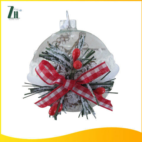Glass Christmas Ball for Xmas Tree Decoration