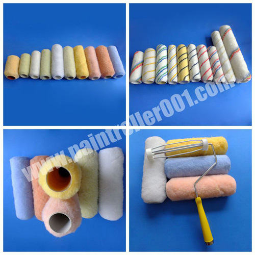"3-18"" Cage Wire Polyester (Chemical) Paint Roller Cover"