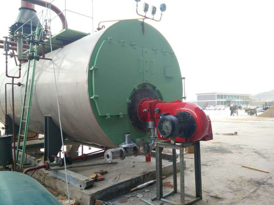 Automatic Fire Tube Industrial Diesel Oil/Natural Gas Fired Steam Boiler