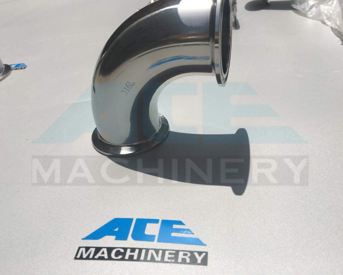 Polished Seamless Stainless Steel Sanitary Pipe Elbow (ACE-WT-3G)