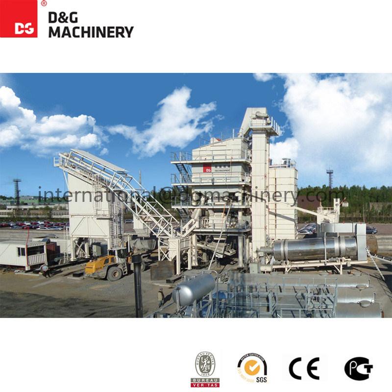 Dg2500AC Asphalt Mixing Plant for Sale / Compact Asphalt Plant