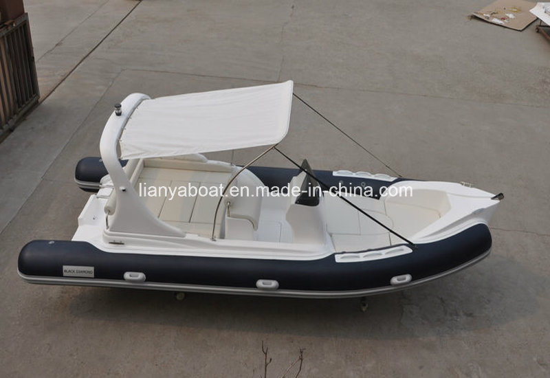 China inflatable boat motor dinghy rib 620 boat sale for Dinghy motor for sale