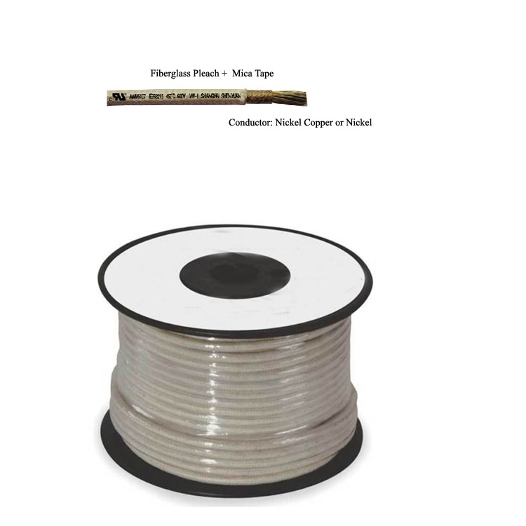 China UL5107 Nickel Conductor Mica Wrapped Fire Resistant Wire ...