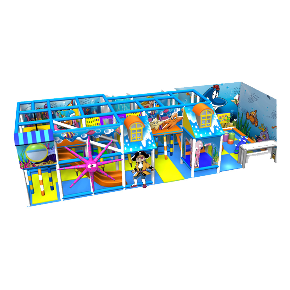 New Indoor Playground Equipment Plastic Toy Manufacturer Large Amusement Park Indoor Playground