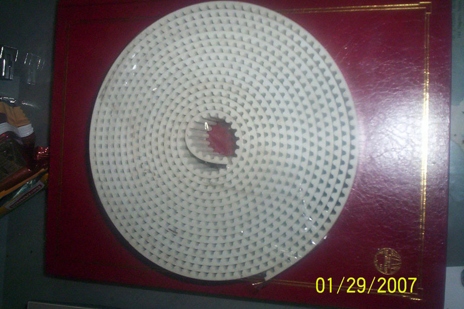 Trapezoidal Tooth Timing Belt for Texturing Machine