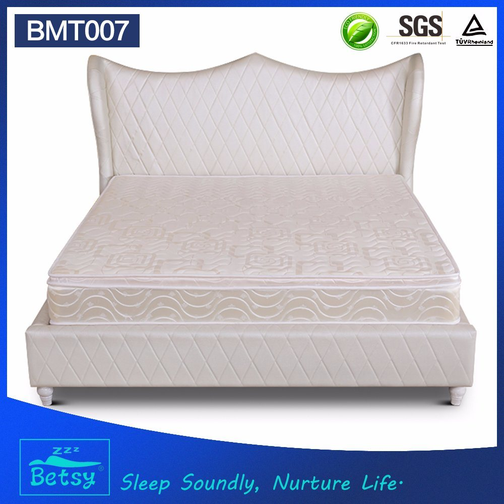 OEM Resilient Bonnell Spring Mattress 25cm High with Resilient Bonnell Spring and Comfort Box Top Layer