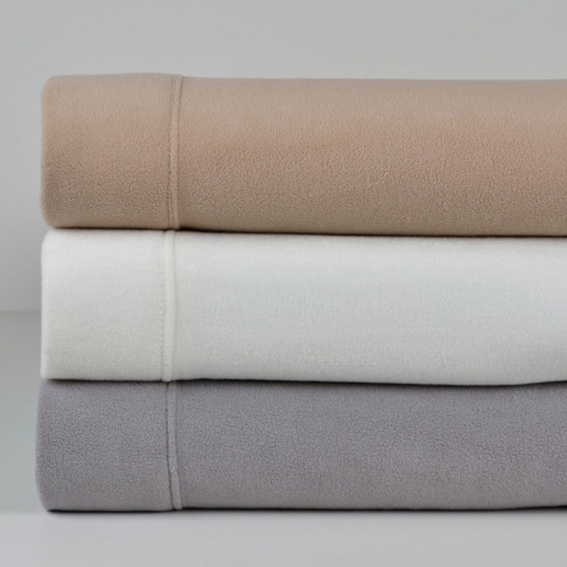 Flat Top Sheets - Microfleece Sheet Separates