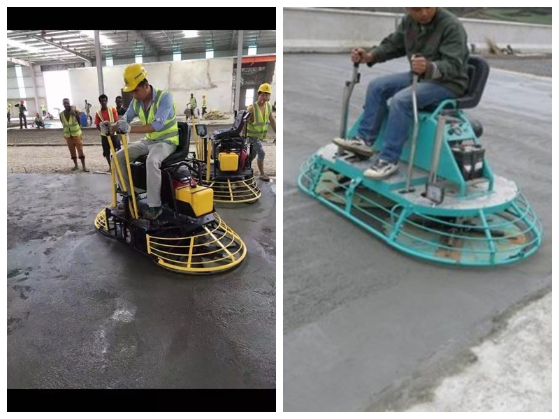Ride on Vibrating Trowel Machine, Concrete Ride on Power Trowel