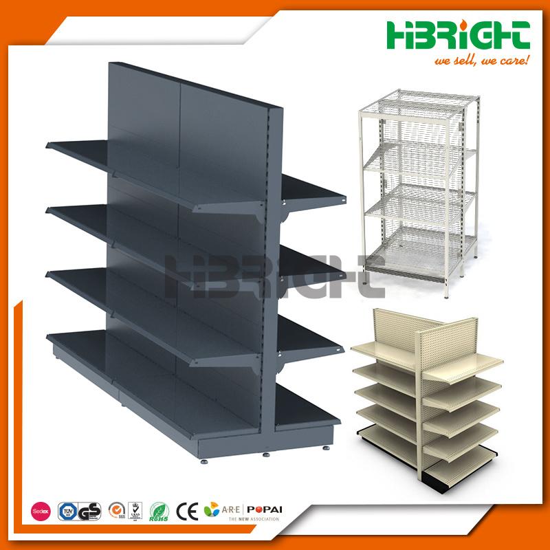 Retail Store Display Rack Grocey Gondola Shelving Supermarket Shelf