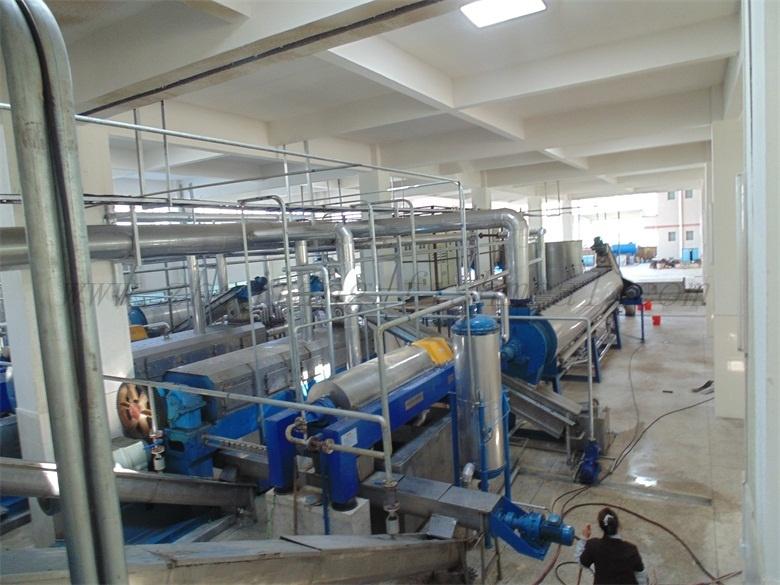 Falling Film Evaporator for Fishmeal Plant Line