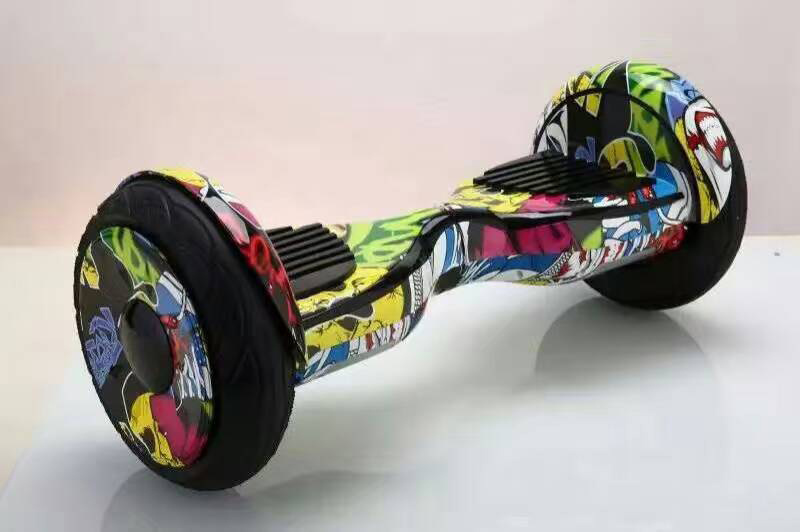 10 Inch Rubber Tire Two Wheel Balance Scooter with Self Balance