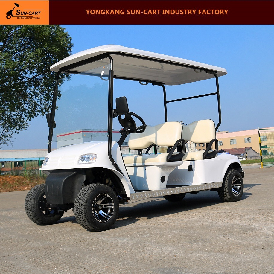 4 Passenger Electric Hotel Golf Cart