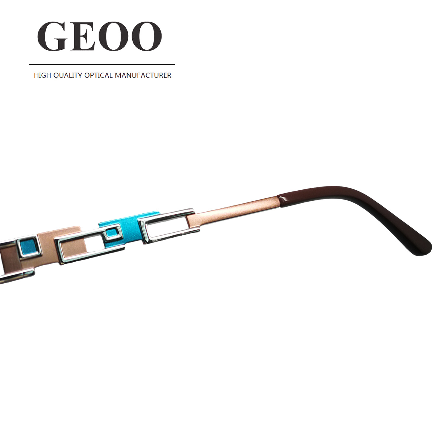 Stainless Abstract Optical Frame (XS5589 C3)