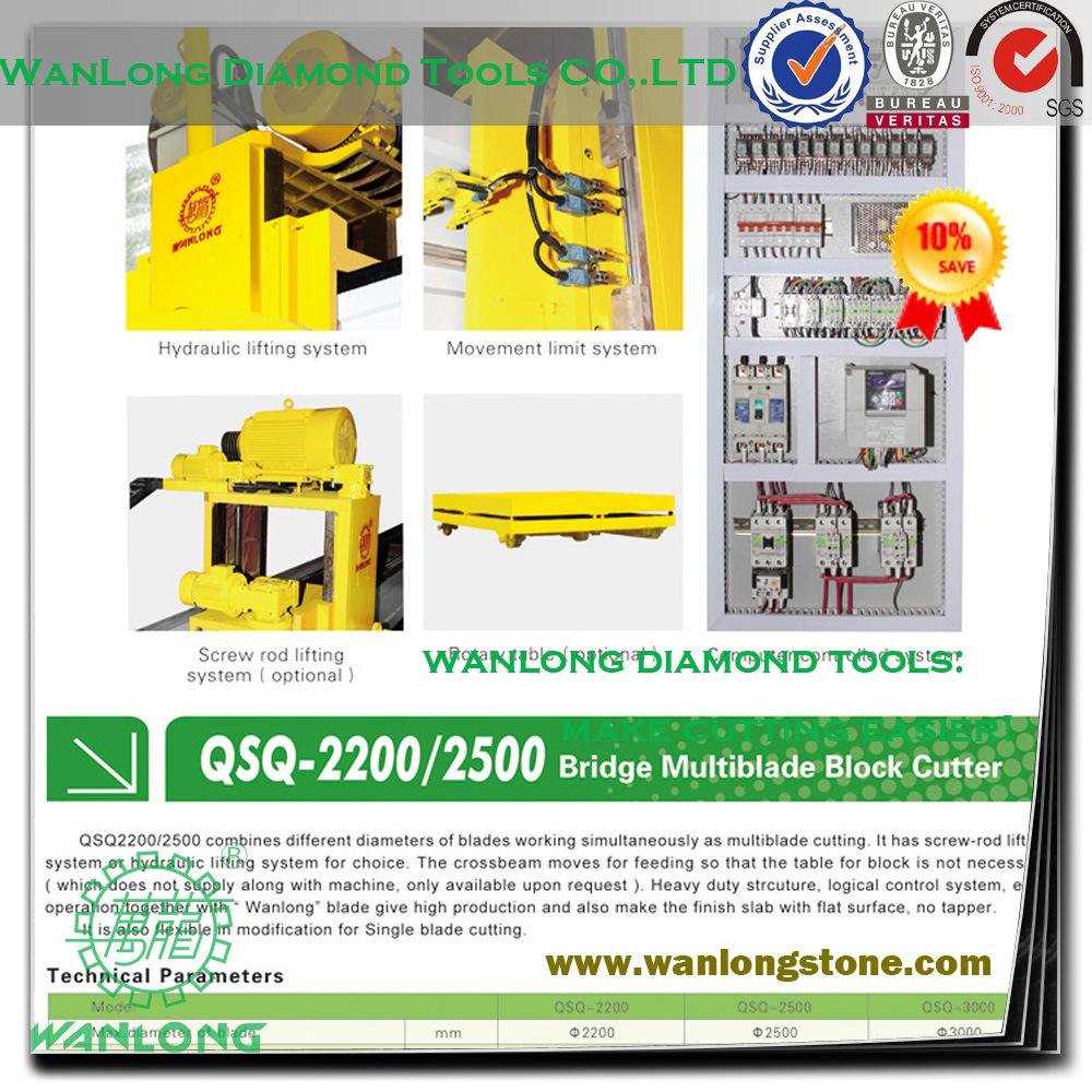 Wanlong Granite Stone Cutting and Polishing Machine - China Stone Cutter