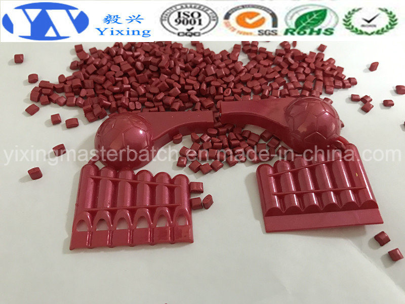 Color Plastic Masterbatch/Pearlescent Masterbatch Affordable Price